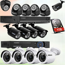 8CH 5 IN 1 AHD 1080N DVR Outdoor 2000TVL Home CCTV Security Camera Video System
