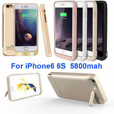 5800mAh External power bank Charger pack backup battery case for iphone 6 6S