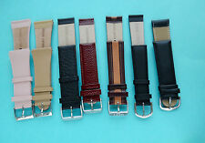 Real Leather Watch Straps Sizes/colours 8,10,12,16,18,20,22,24,26mm
