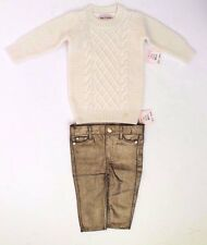 Juicy Couture Girls Infant Baby Sweater & Jeans/Pants Sizes 3-24 Months NWT