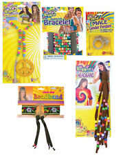 #60S HIPPY HIPPIE PEACE SIGN ALL KINDS FANCY DRESS COSTUME ACCESSORIES