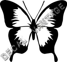 Classic Butterfly Vinyl Sticker Decal - Choose Size & Color
