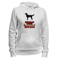 MY Flat Coated Retriever IS SMARTER THAN YOU ! Women Hoodie
