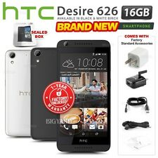 New&Sealed Factory Unlocked HTC Desire 626 Black White Dual SIM Android Phone