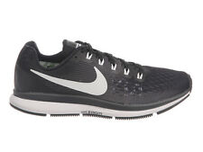 NEW WOMENS NIKE AIR ZOOM PEGASUS 34 RUNNING SHOES TRAINERS BLACK / WHITE / DARK