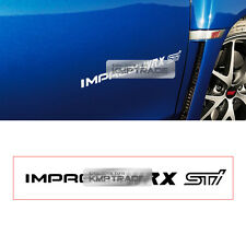 IMPREZA Logo Graphics Vinyl Decals Custom Sticker For SUBARU IMPREZA WRX STI
