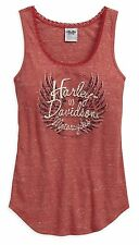 HARLEY-DAVIDSON - LADIES TANK TOP - BRAND NEW - BLOUSE T-SHIRT VEST CAMI MUSCLE