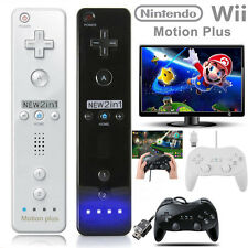 Wii Remote Controller + Nunchuck & Classic Controller Pro For Nintendo Wii/Wii U