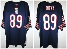 Mike Ditka 89 Chicago Bears Mitchell & Ness NFL Throwback Premier Jersey L Navy
