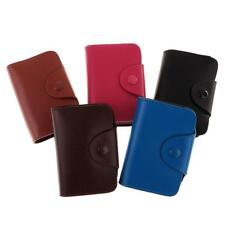 Business ID Credit Card Wallet Holder Pocket Bag Case Leather Card Bag Case