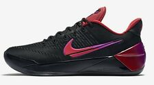 Nike ZOOM KOBE A.D. MEN'S BASKETBALL SHOES, BLACK/RED- Size US 12, 12.5 Or 13