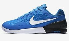 Nike COURT ZOOM CAGE-2 MEN'S TENNIS SHOES,BLUE/BLACK/WHITE- US 9.5,11,11.5 Or 12