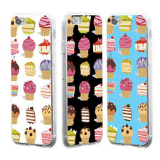 Cupcake Cake Dessert Phone Case Cover for iPhone 4 5S 6 7 Samsung Galaxy S6 Sale