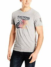 Lucky Brand Mens Collections 7M82808 Retro Triumph Graphic Tee