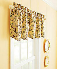 TUSCAN FRENCH CAFE MEDITERRANEAN THEME Kitchen Curtains VALANCE OR TIERS SET