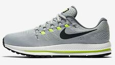 Nike AIR ZOOM VOMERO-12 MEN'S RUNNING SHOES,GREY/BLACK- Size US 8, 8.5, 9 Or 9.5