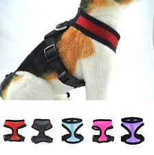 Pet Dog Control Harness Puppy Cat Soft Walk Collar Safety Strap Mesh Vest