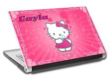 Hello Kitty Personalized LAPTOP Skin Decal Vinyl Sticker ANY NAME L490