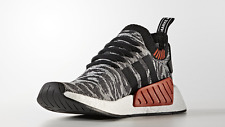 NEW Adidas Originals NMD R2 PK Primeknit Core Black White Red BY9409 Men's 8-13