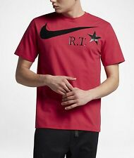 NikeLab X RICCARDO TISCI MEN'S T-SHIRT Distance Red/Black-Size XS, S, M, L Or XL
