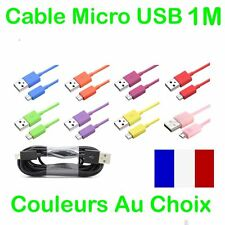 CÂBLE MICRO USB UNIVERSEL CHARGEUR RECHARGE SYNC POUR SAMSUNG/LG/NOKIA/PS4/WIKO