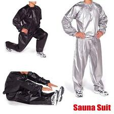 Heavy Duty Sweat Suit Sauna Practice Gym Fitness Weight Loss Anti-Rip Suit M-3XL