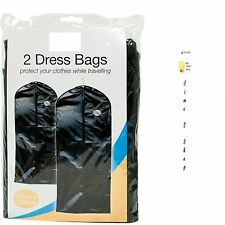 NEW SUIT&DRESSES COVER BAGS FOR TRAVEL&HOME PROTECTOR CARRIER GARMENT BAGS