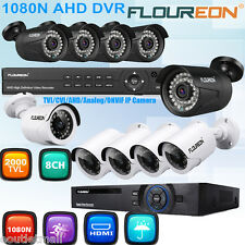 1080N 8CH AHD DVR 2000TVL/3000TVL Home Security Camera CCTV Surveillance System