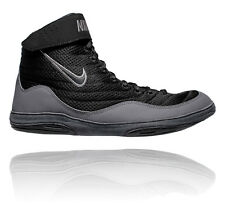 NIKE INFLICT 3 MENS WRESTLING SHOES BLACK / BLACK DARK GREY / ANTH