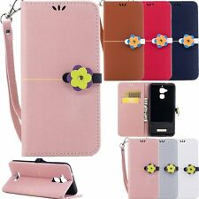 Fashion Lovely Magnetic Flip Leather Wallet Case For Asus Zenfone 3 Max ZC520TL