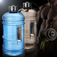 Large Capacity Water Bottle 2.2L Sports Gym Space Half Gallon Workout Bottles