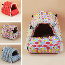 New Hamster House Soft Detachable Guinea Pig Hammock Pet Squirrel Colorful Bed E