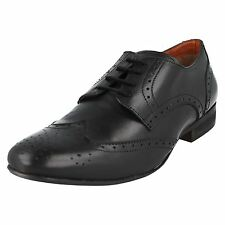 Mens Aberto Torresi A2083 Label Lace Up Brogue Shoes