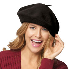 Basque Beret - 100% Wool French Hat Cap