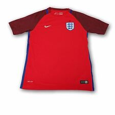 England Away Youth Nike Supporter Red Soccer Jersey