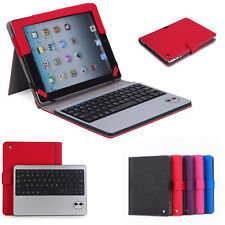 Detachable Bluetooth Keyboard Folio Stand Leather Case Cover For iPad 2 / 3 / 4