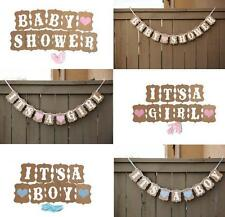 Party 1 Pcs Boy Bunting Borthday Decorations Cute Baby Shower Girl Baby Banner