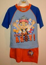 Boys Jake And The Neverland Pirates Short Pyjamas  12-18mths, 18-24mths & 2-3yrs