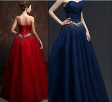 New Custom Quinceanera Dress Party Evening Ball Formal Prom Dresses Wedding Gown