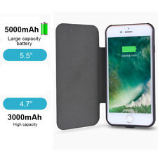 For iPhone7 7Plus External Battery Backup Power Solar Battery Charger Case Cover