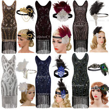 Vintage1920's Flapper Dress Great Gatsby Party Evening Dresses Women's Costumes