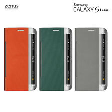 Zenus Korea Leather Diary Wallet Cover Cell Phone Case for Samsung Galaxy S6Edge