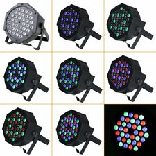 Music Active 36LED RGBW 8Ch DMX512 Led Stage Strobe Light Par DJ Lighting BU