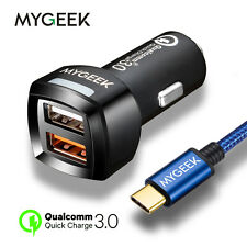 Car Charger Qualcomm Quick Mygeek USB Universal Mobile Phone Accessories Trend