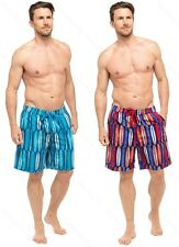 Mens Surf Board Print Swim Shorts Trunks By Tom Franks Blue Or Green Size M-XXXL