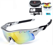 OBAOLAY Sport Sunglasses Polarized Cycling Goggles UV400 Windproof Sand-proof