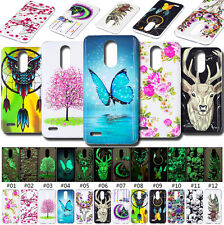 For LG Fashion TPU Soft Fluorescence Cover Silicone Case Rubber Painted Skin