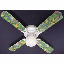 Ceiling Fan Designers Tropical Rainforest Frogs Frog Indoor Ceiling Fan