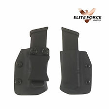 Springfield Armory 1911, 45 CAL IWB KYDEX Mag Pouch, Single Stack Magazine Pouch