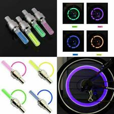 Motion Activated LED Glow  Bike Car Motorcycle Tire Valve Caps Wheel colorful